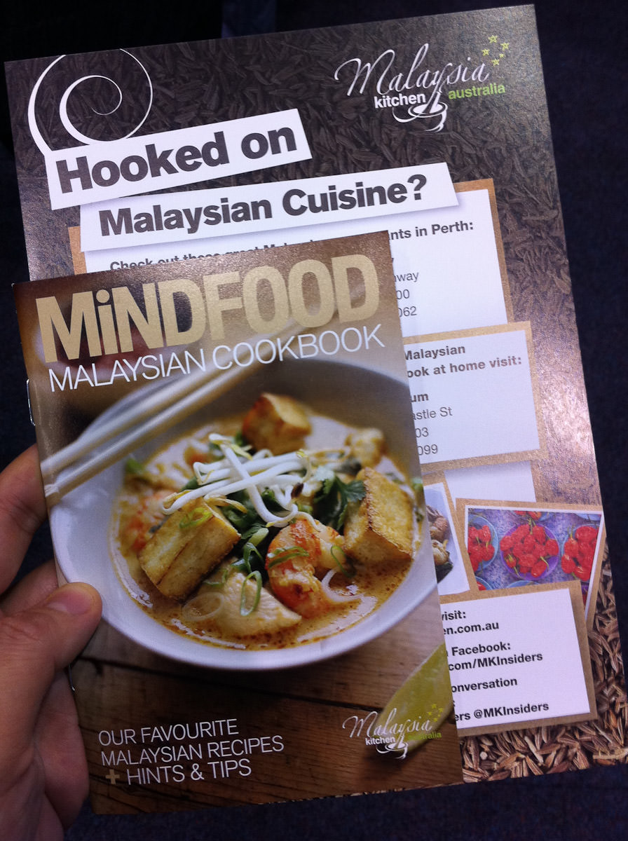 Free mini Malaysian cookbook, Malaysian Kitchen