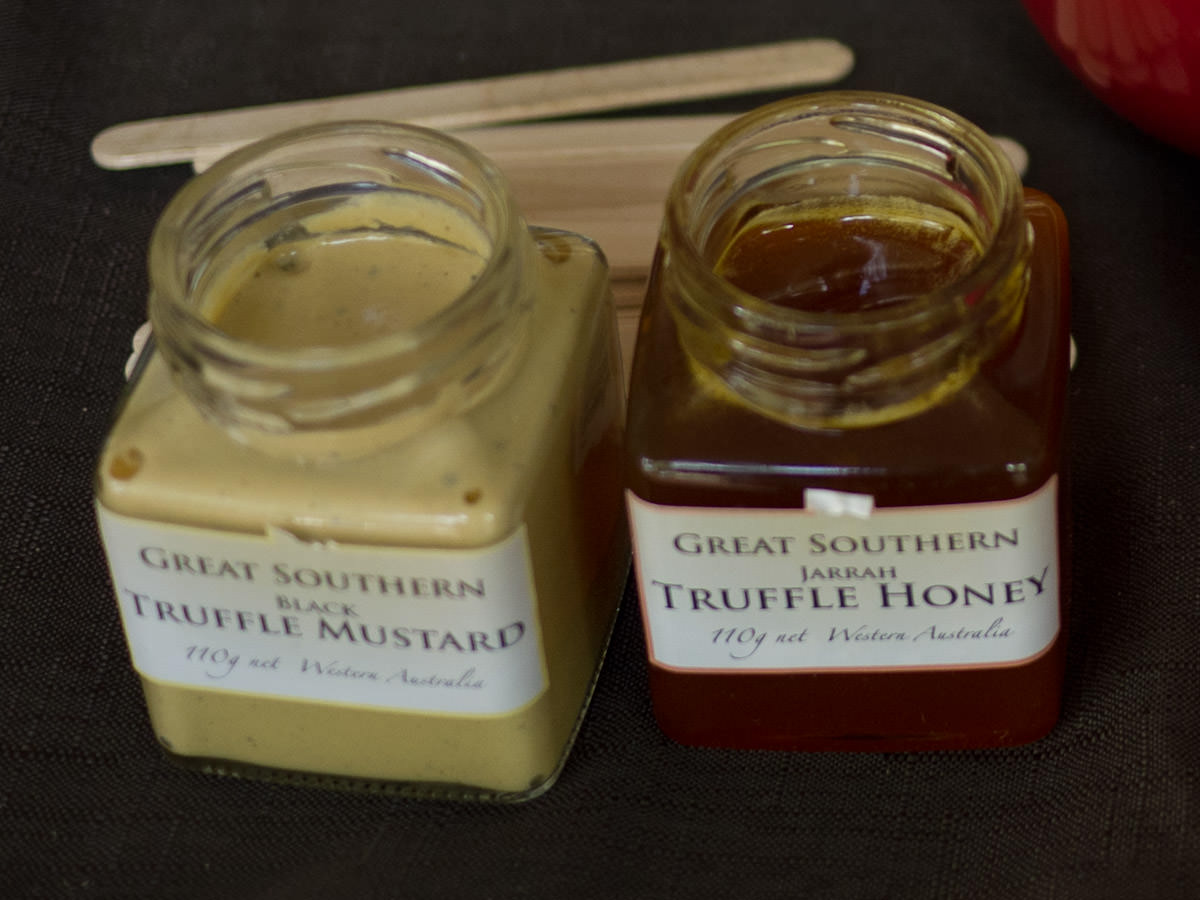 Great Southern trufle mustard and honey