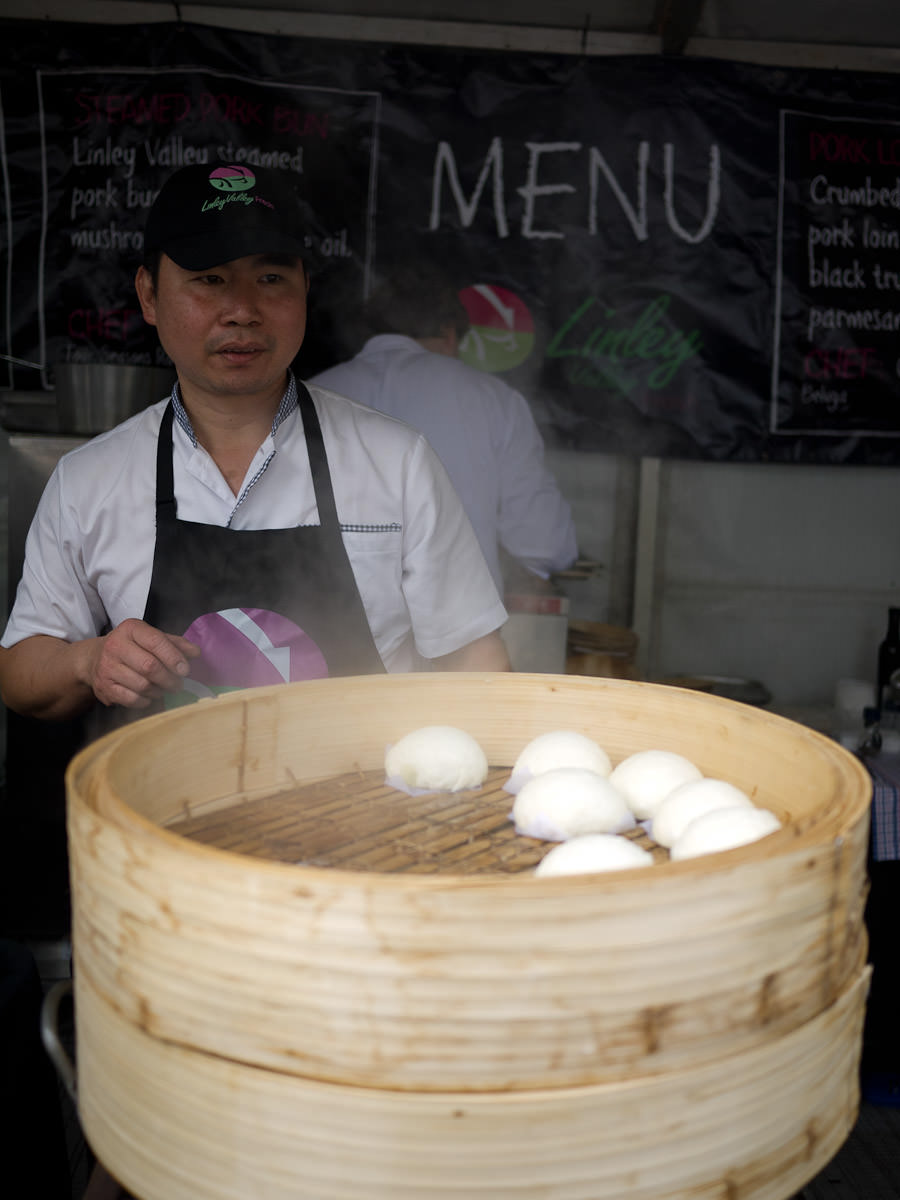 Linley Valley pork steamed buns
