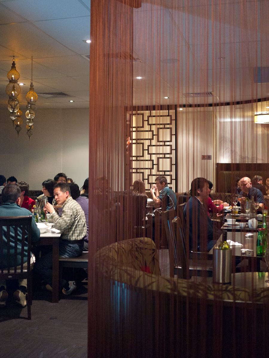 Old Cathay restaurant - dining room