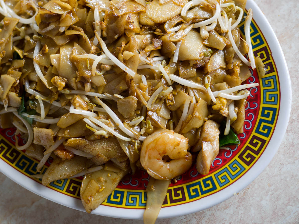 Char kway teow (AU$9.00)