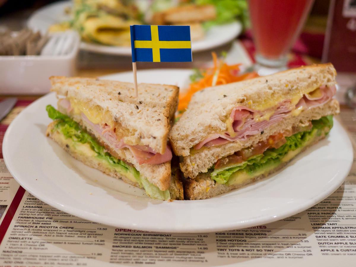 Lund club sandwich