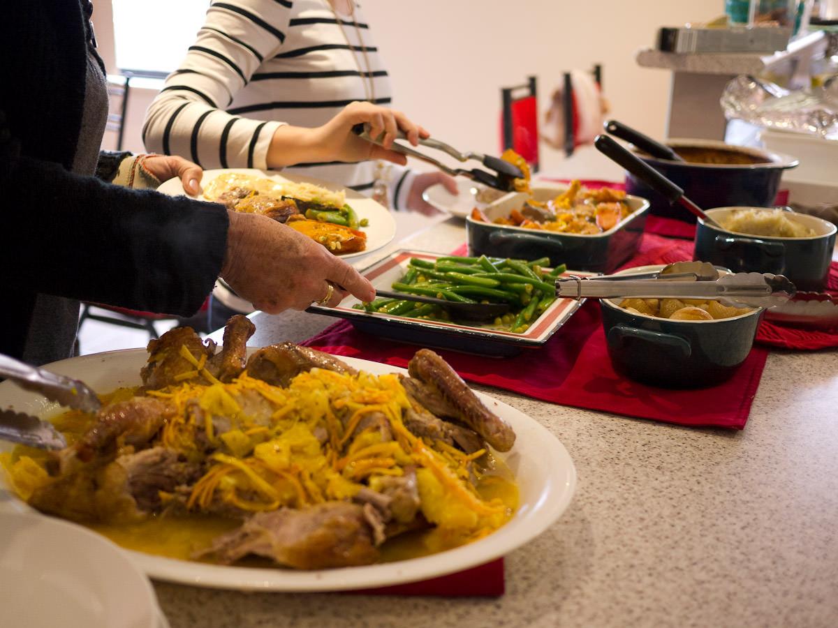 Self-serve lunch