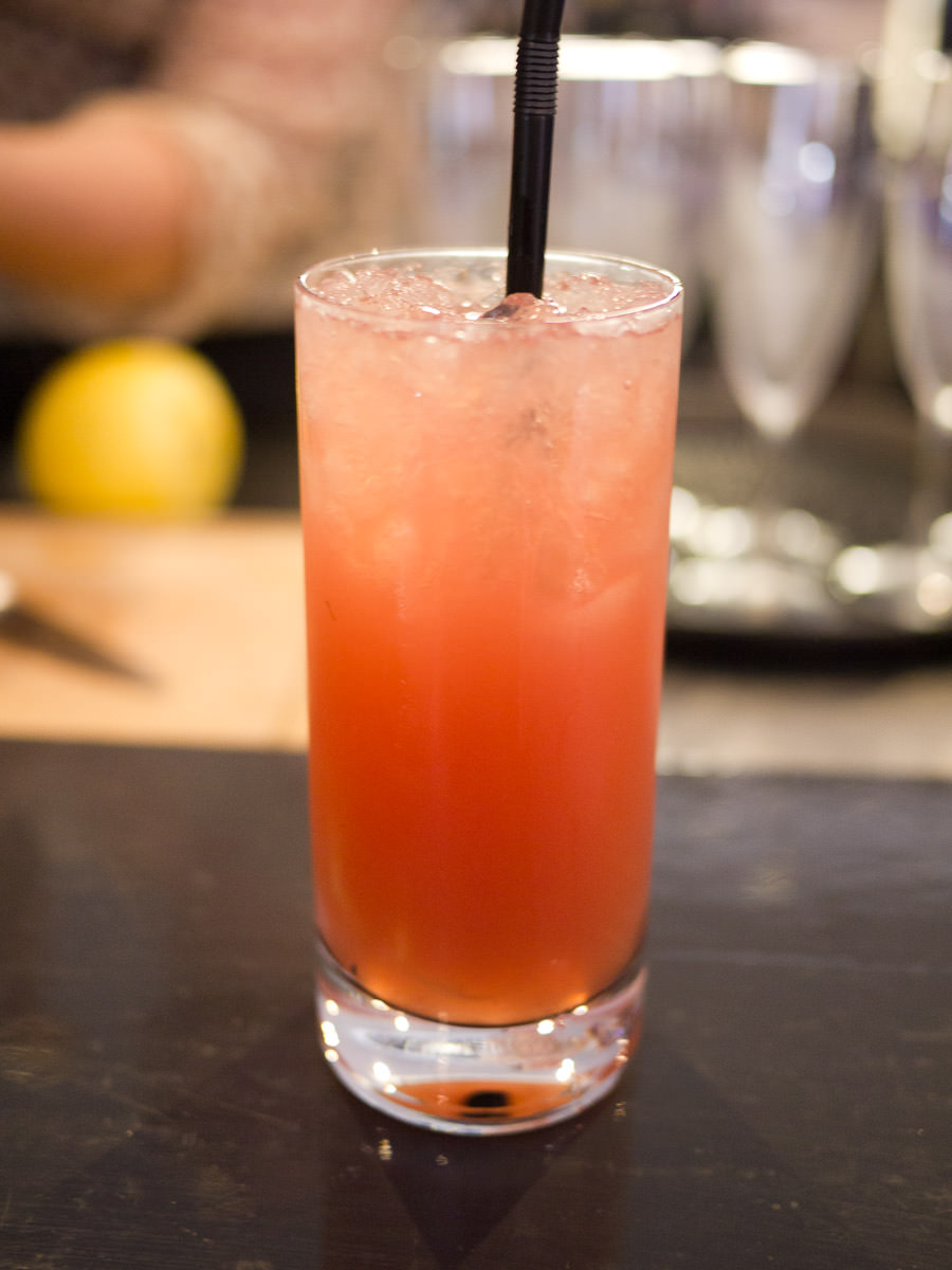 Pink flamingo (mocktail)