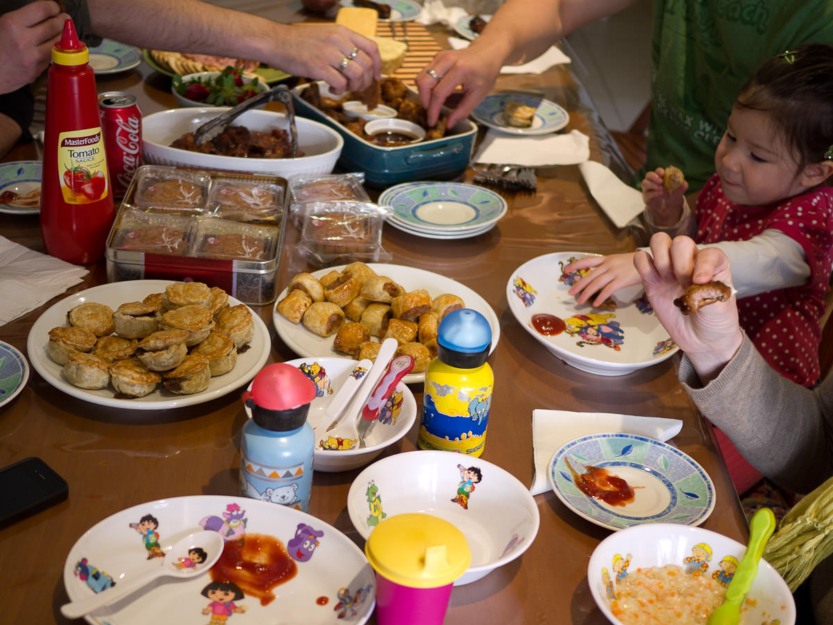 Let the feasting begin!