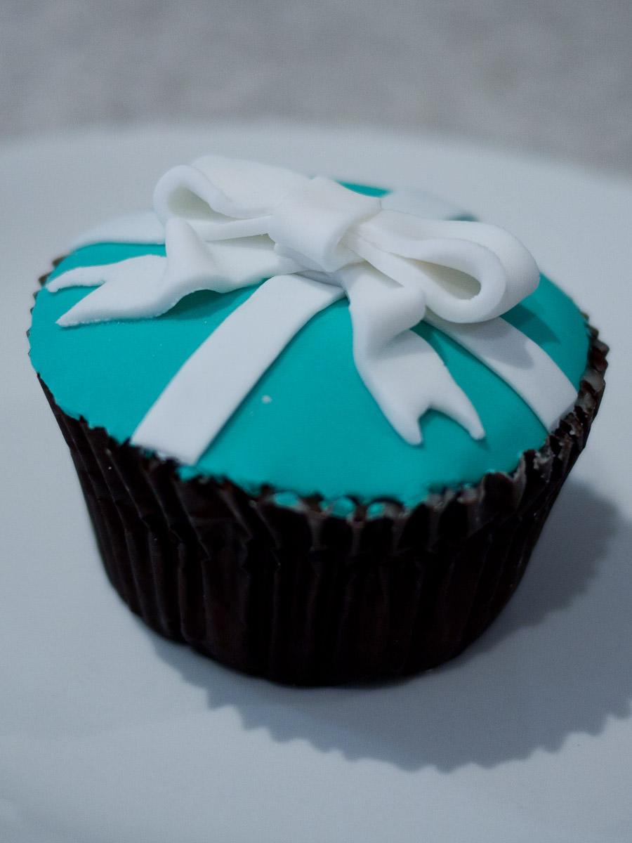 My Tiffany bow cupcake