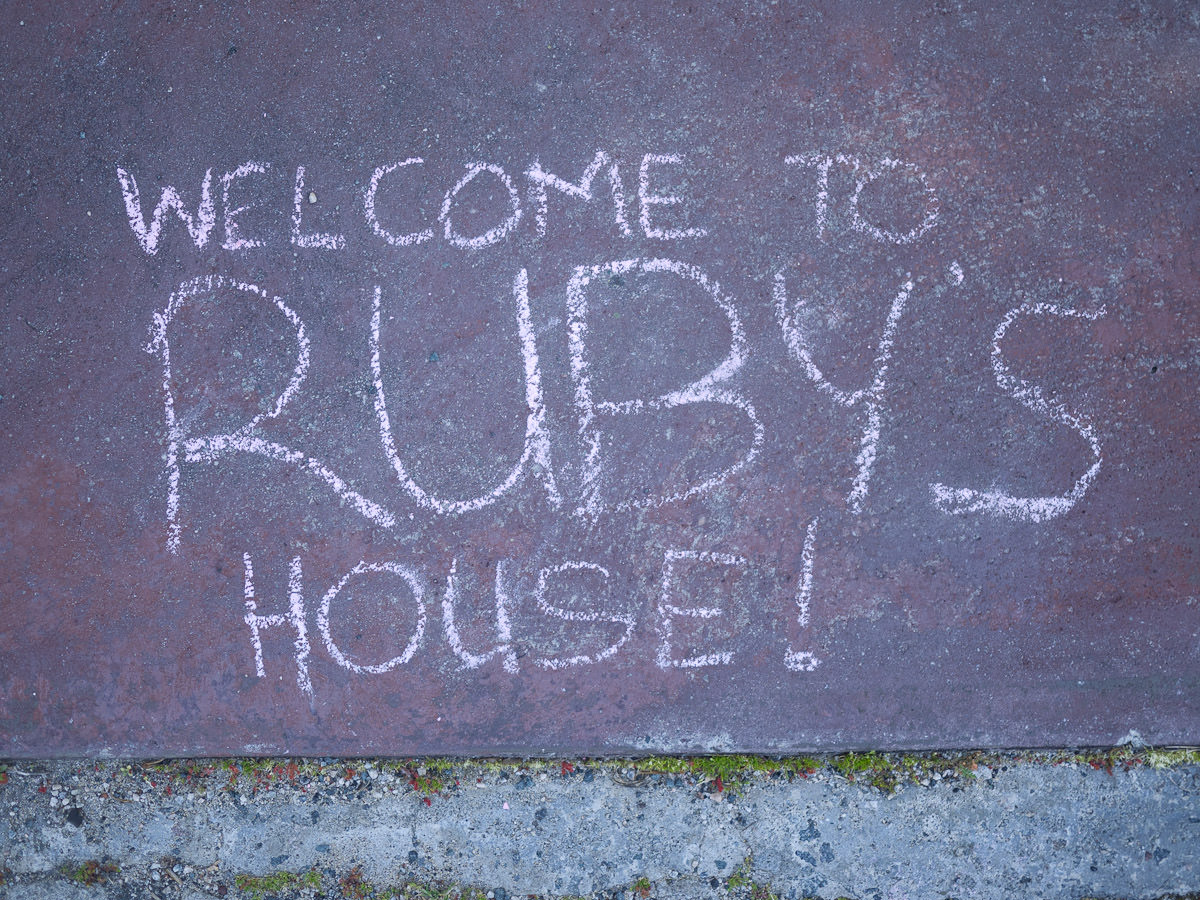 Welcome to Ruby's house!