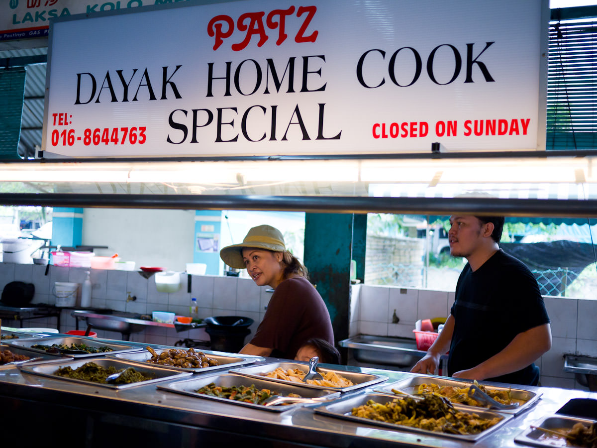 Patz Dayak Home Cook Special, Da-Light Food Court