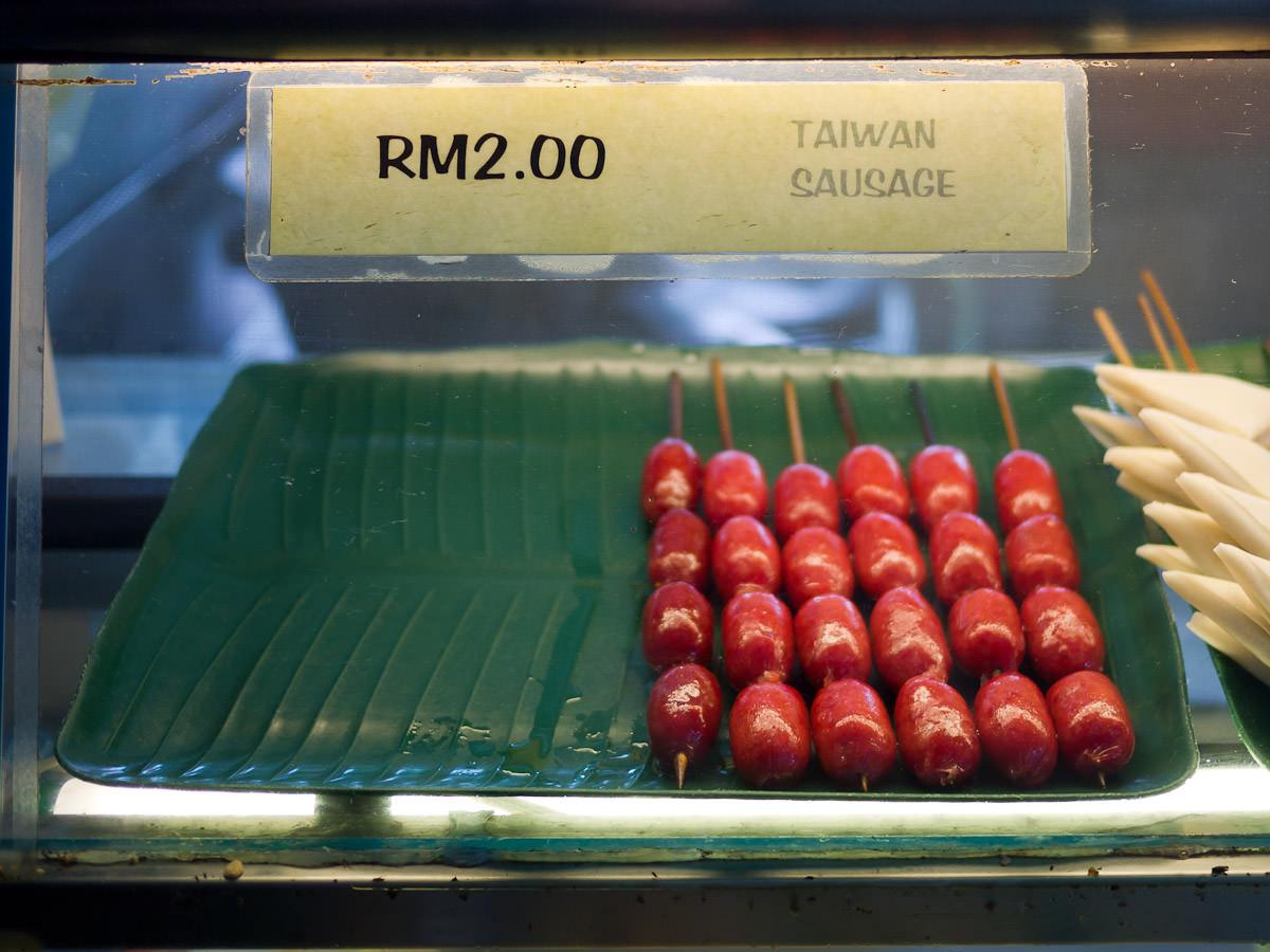 Taiwan sausage