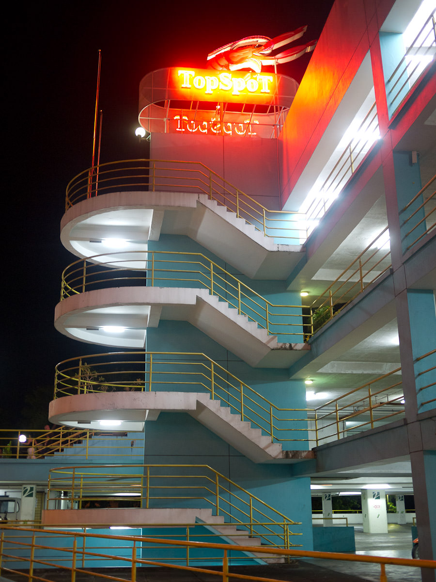Top Spot food court (on the roof of a multi-level car carpark)