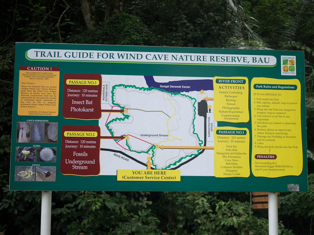 Wind Cave trail guide