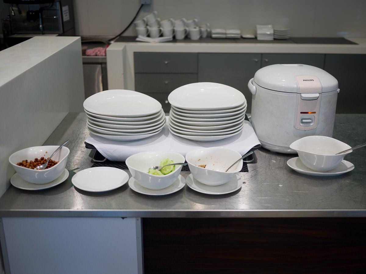 Nasi lemak station
