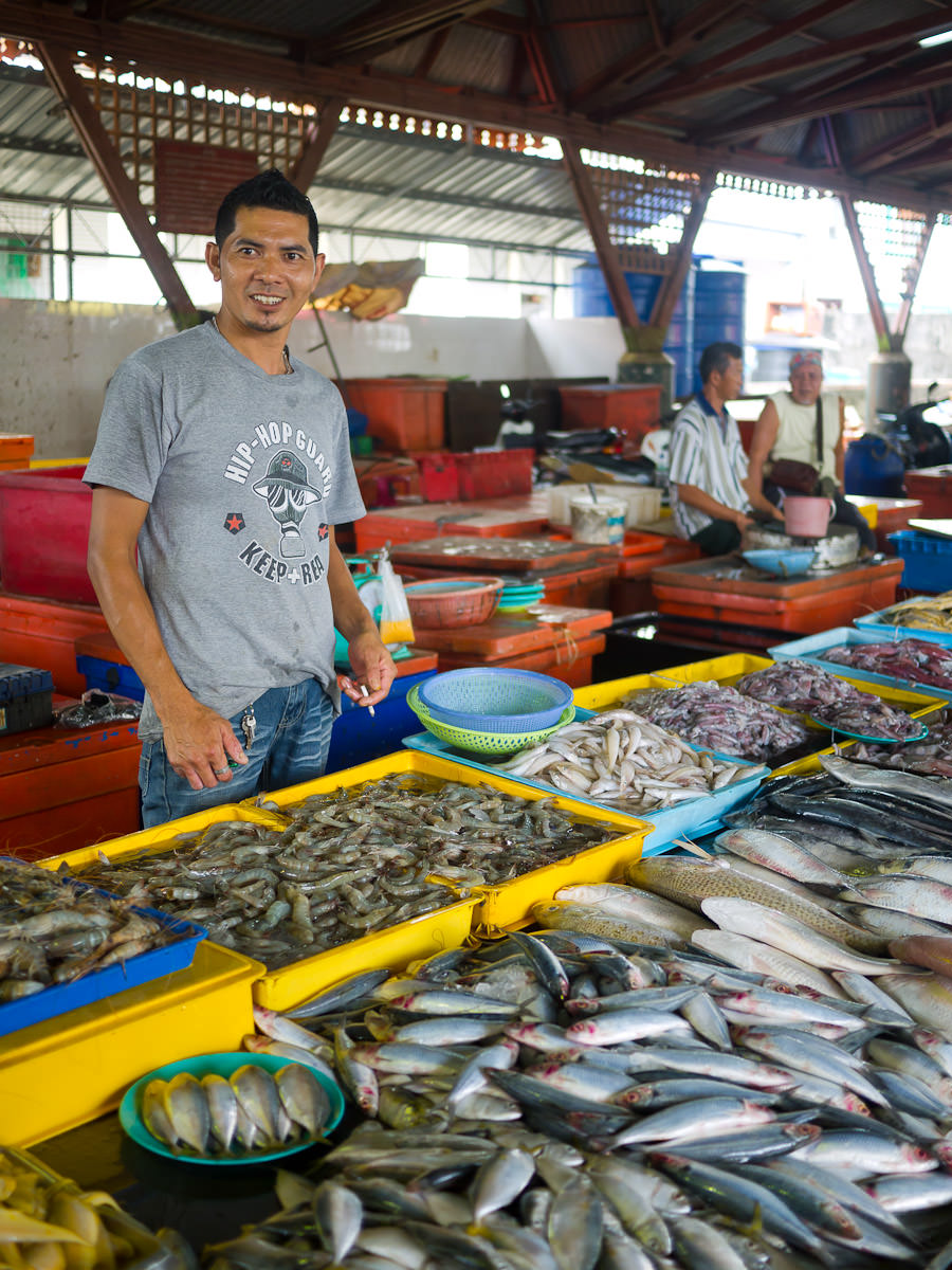 Your friendly neighbourhood fishmonger