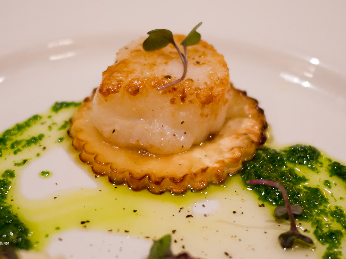 Jabba the Hutt seared scallop