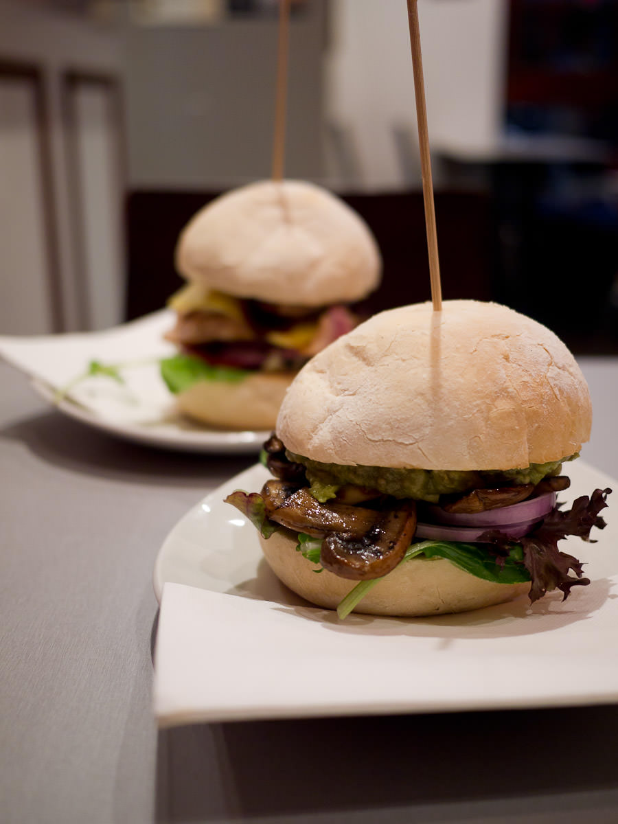Burgers, V Burger Bar