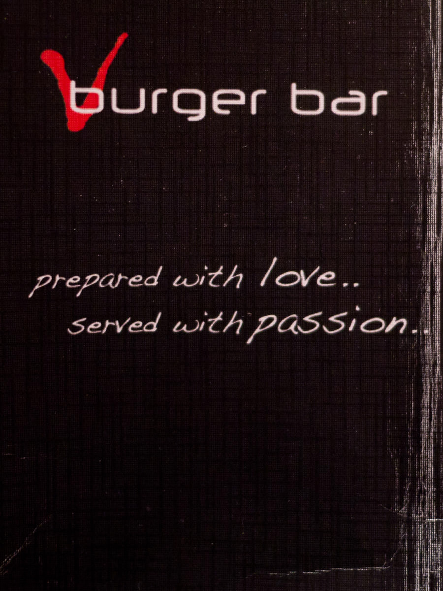V Burger Bar - prepared with love... served with passion