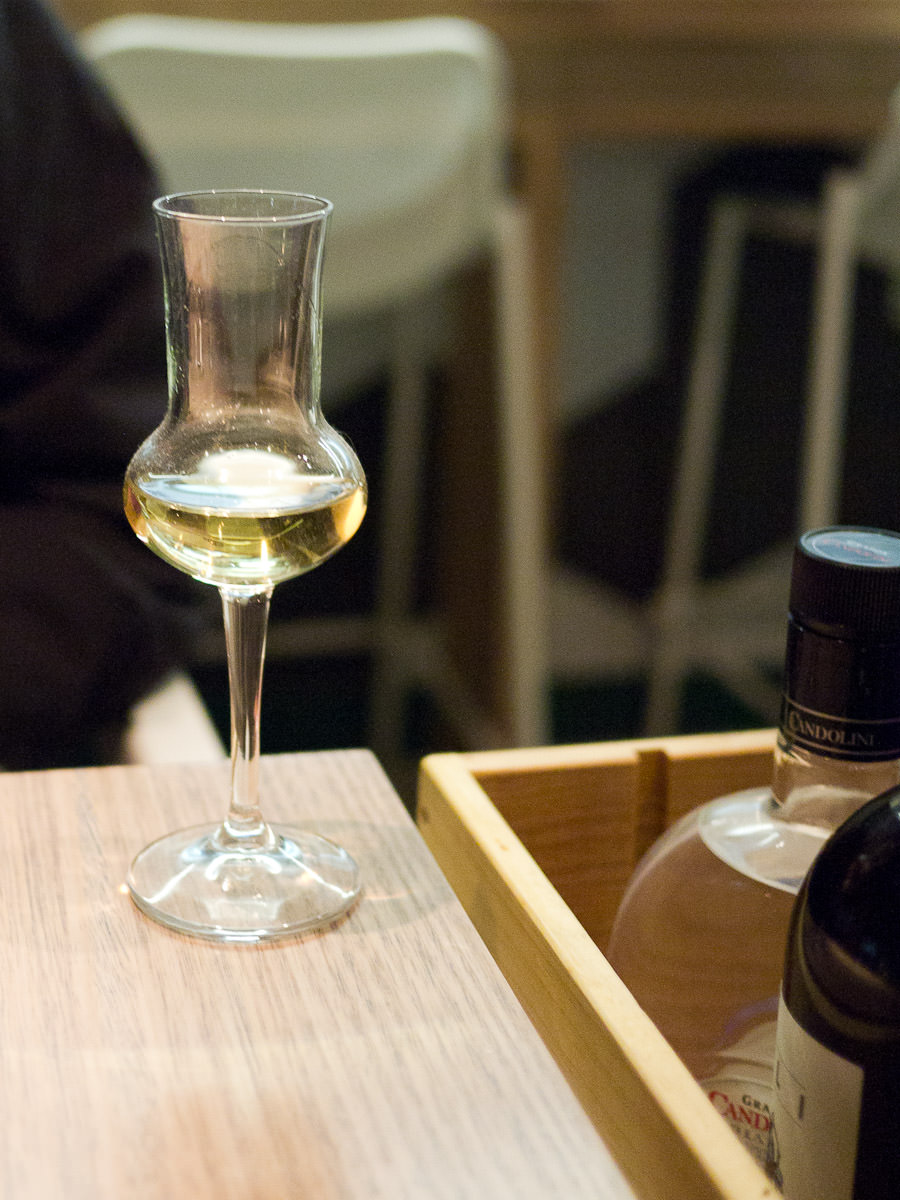 Jay's first grappa