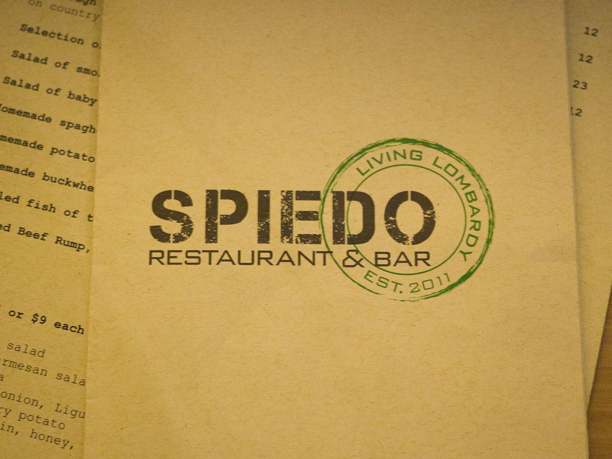 Spiedo menu