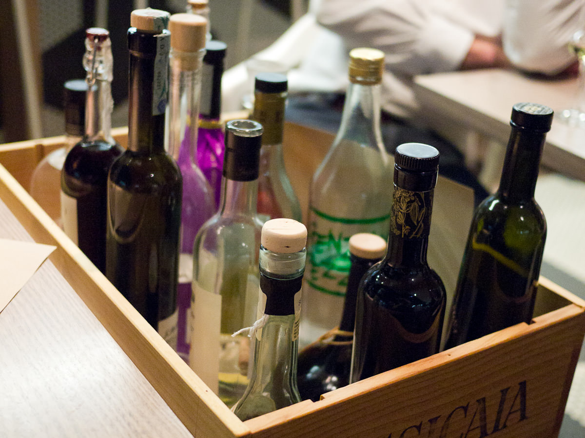 The grappa trolley