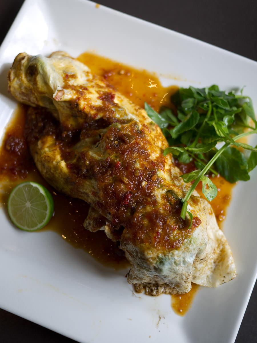 Kara age Crab Omelette (AU$24)