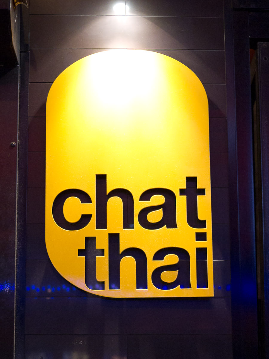 Chat Thai sign