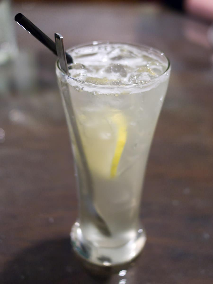 Cold Sarawak honey lemon (RM3)