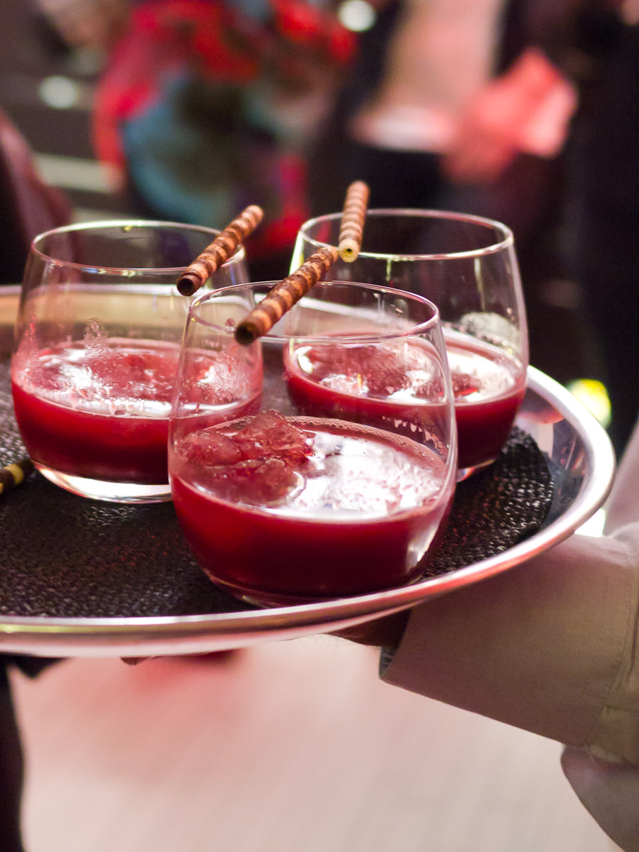 Cherry cocktails