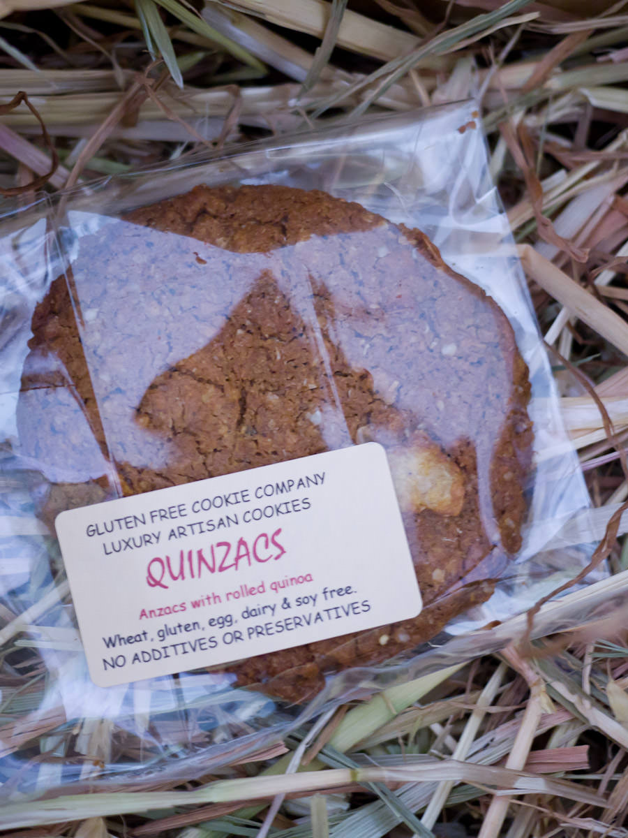 Gluten Free Cookie Company - Quinzacs 50g