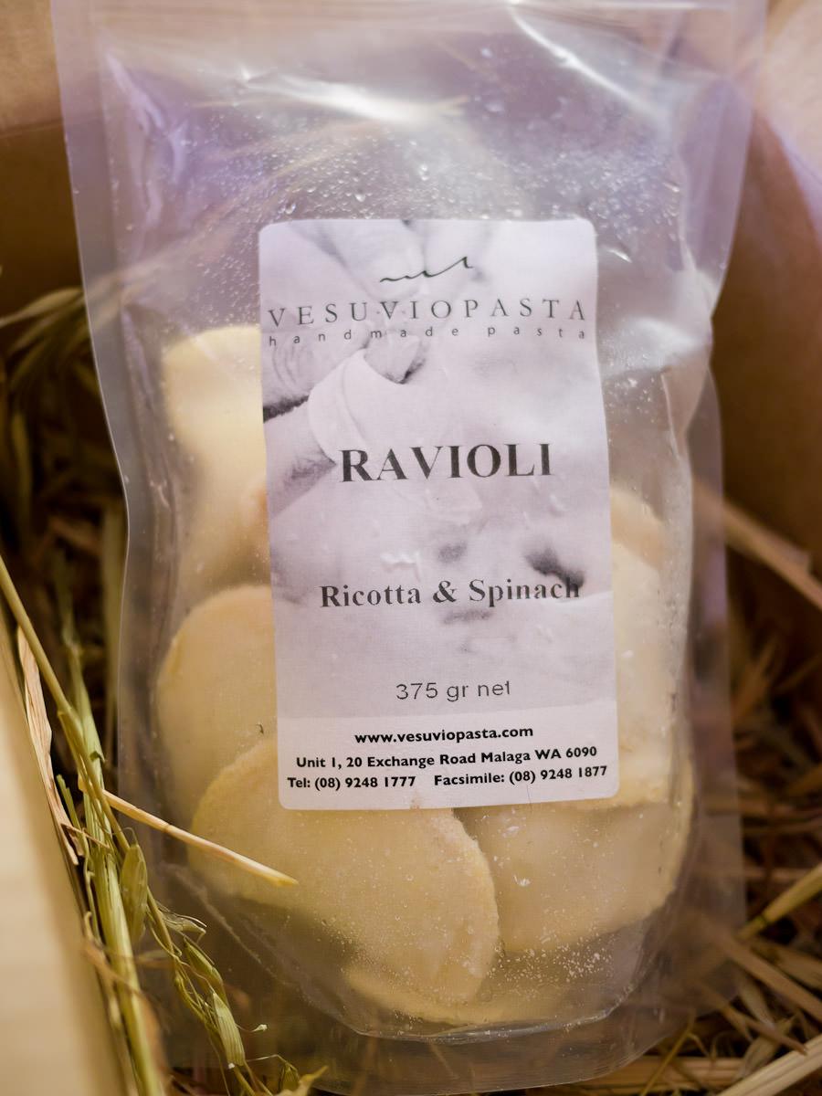 Vesuvio Pasta - Ravioli Ricotta & Spinach 375g