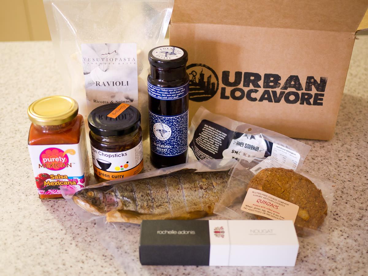 Urban Locavore December box
