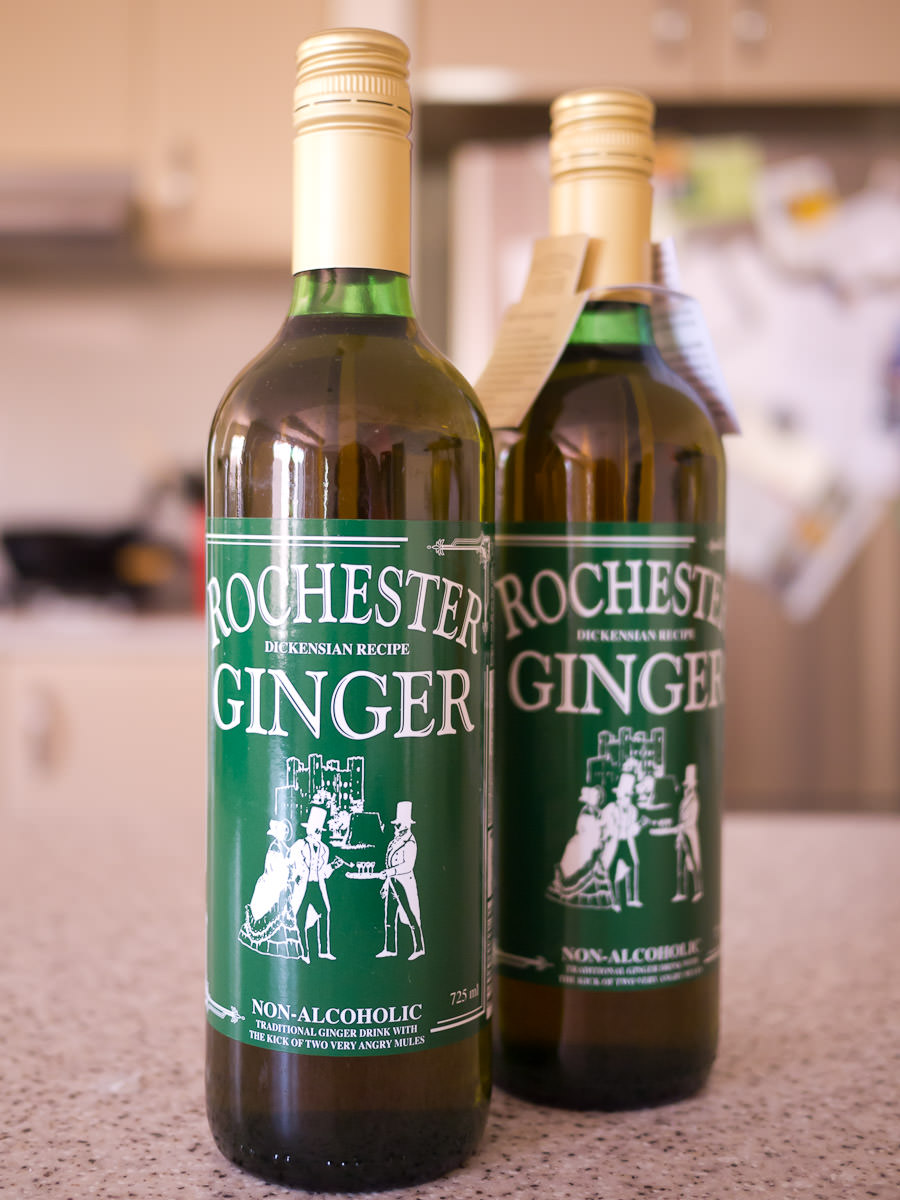 Pic taken earlier that morningin my kitchen: Rochester Ginger