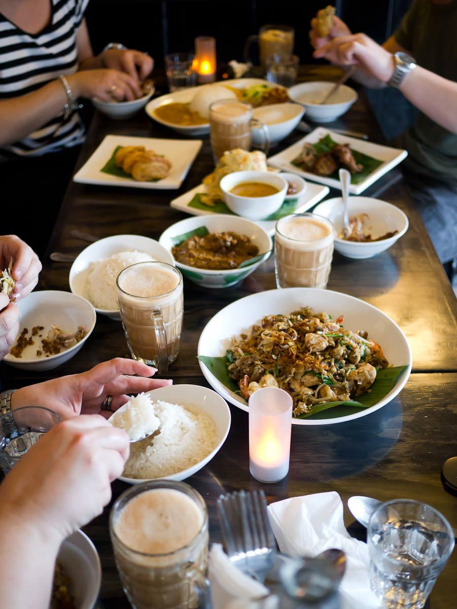 A Malaysian feast