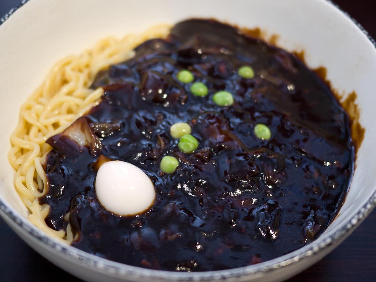 Cha jang noodle