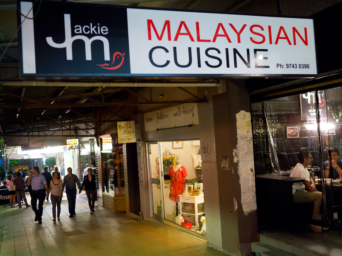 Jackie M Malaysian Cuisine, Concord