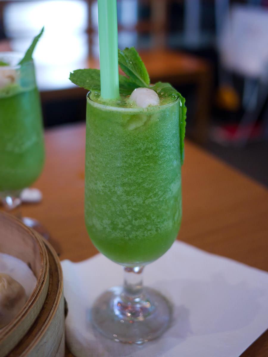Iced lychee mint drink (AU$6.50)
