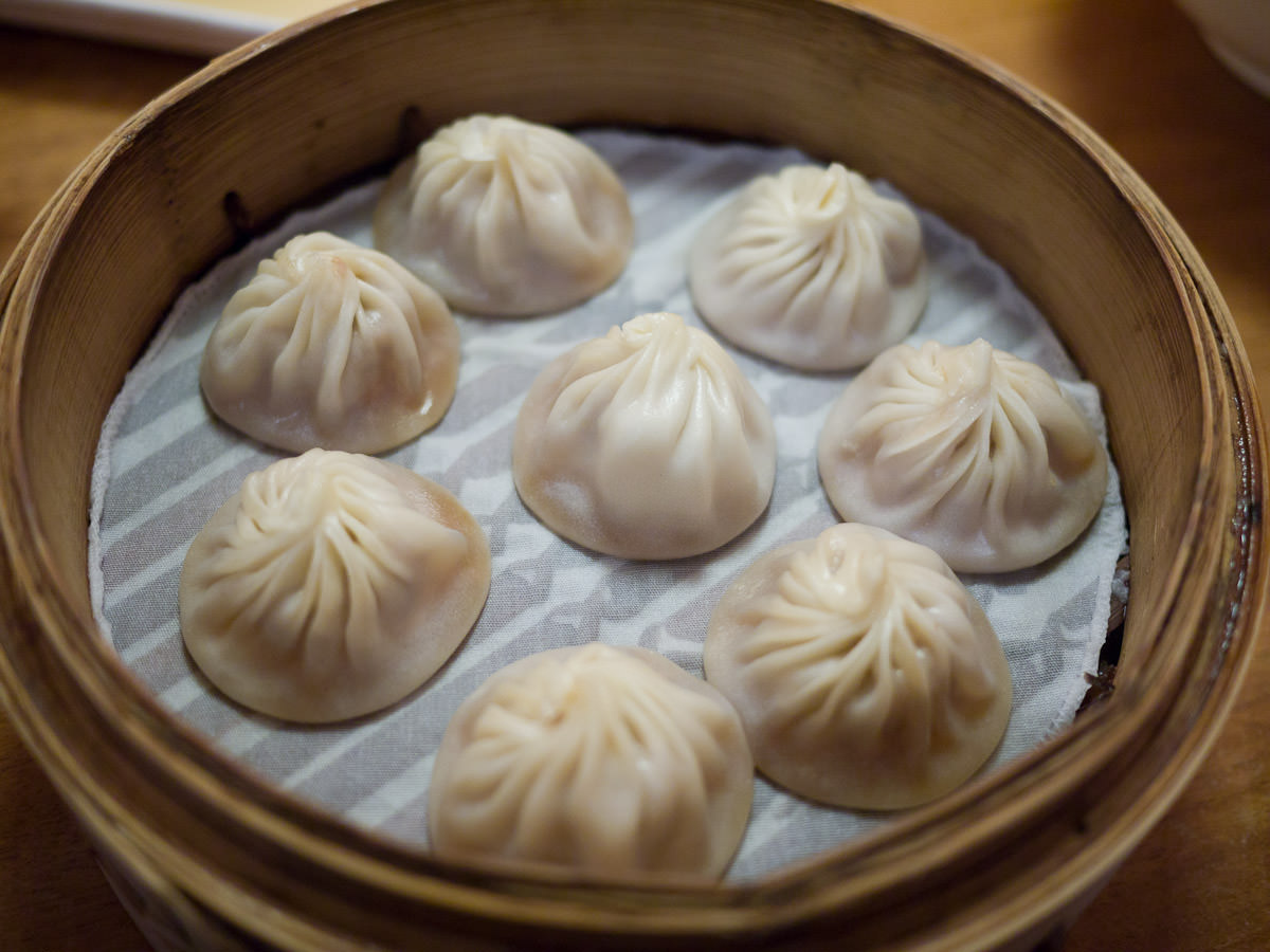 Xiao long bao (soup dumplings)
