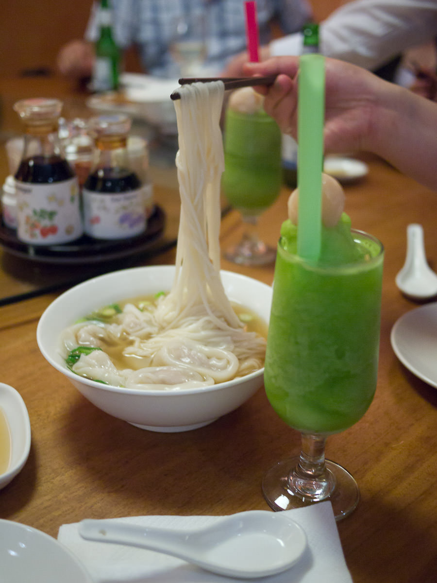 Nice long noodles