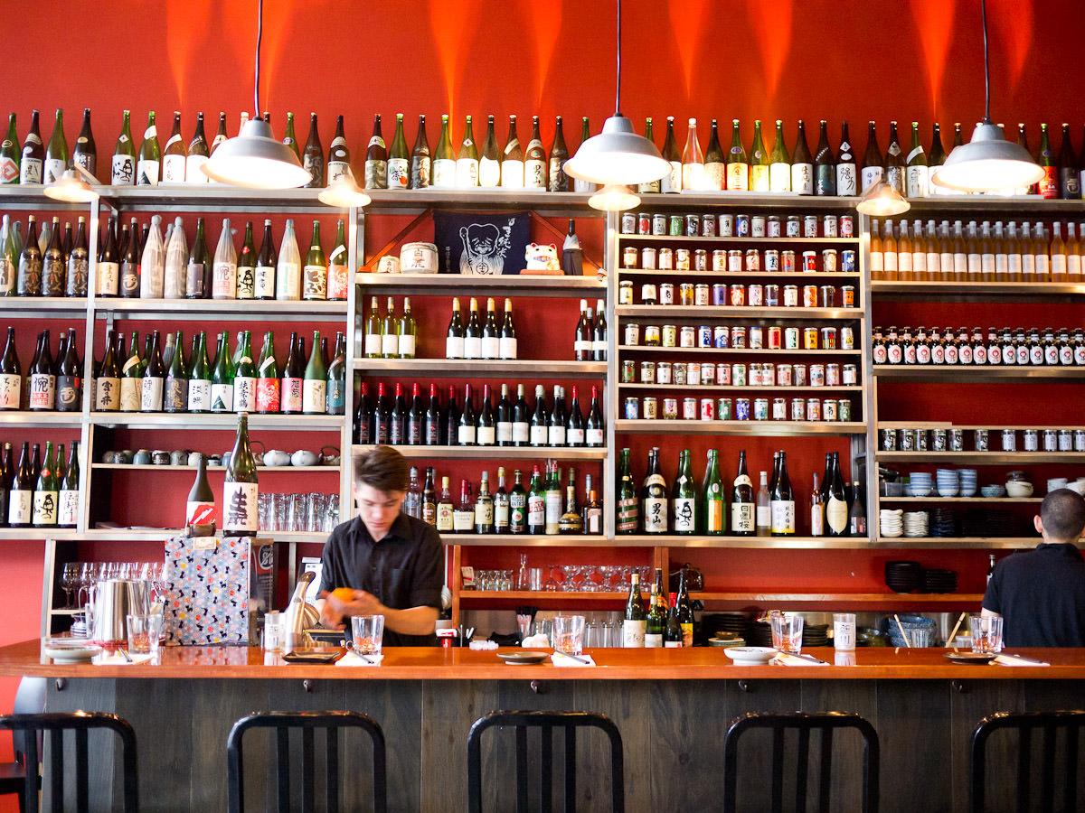 Izakaya Fujiyama - the bar
