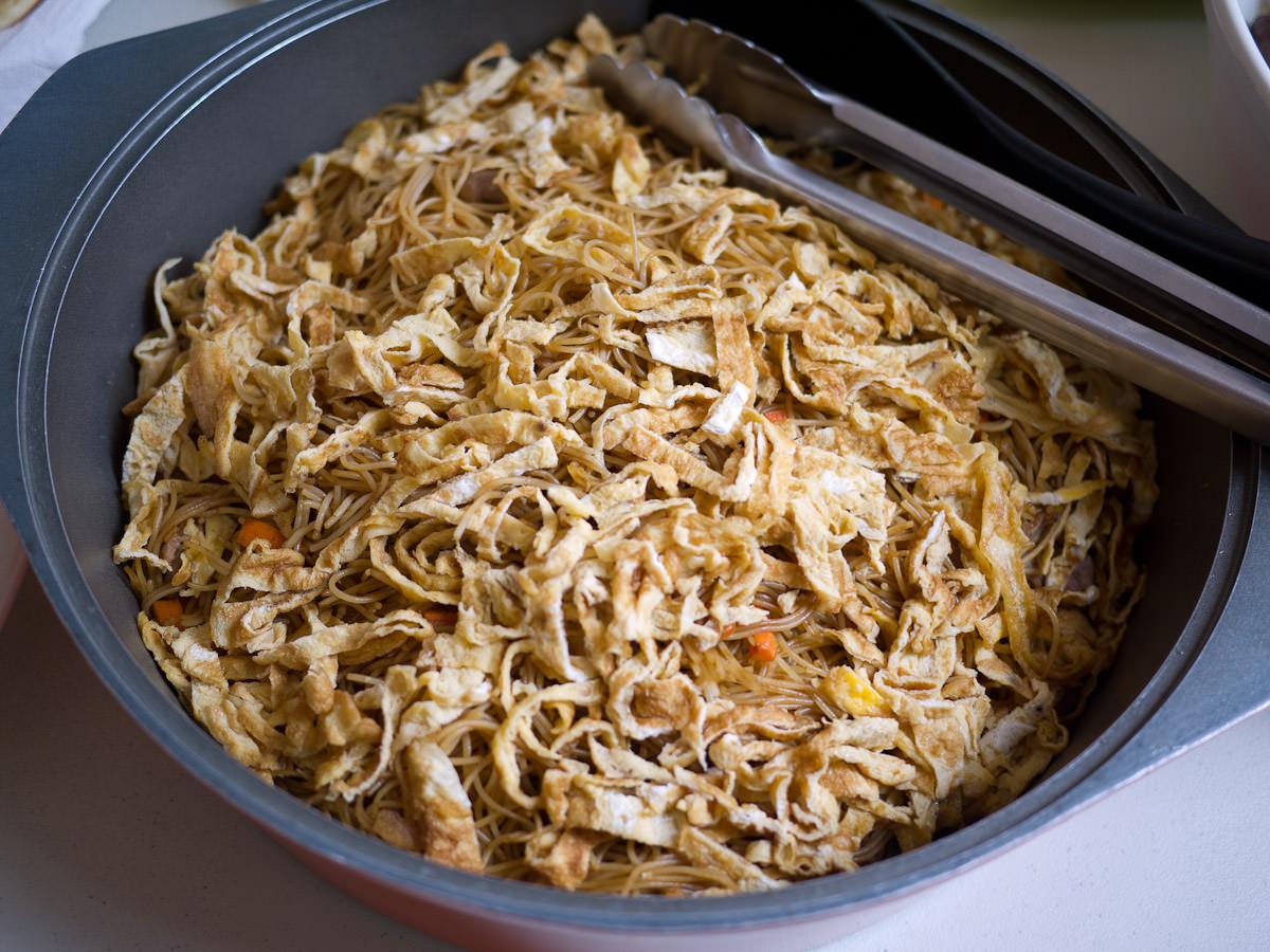 Mum's fried rice noodles