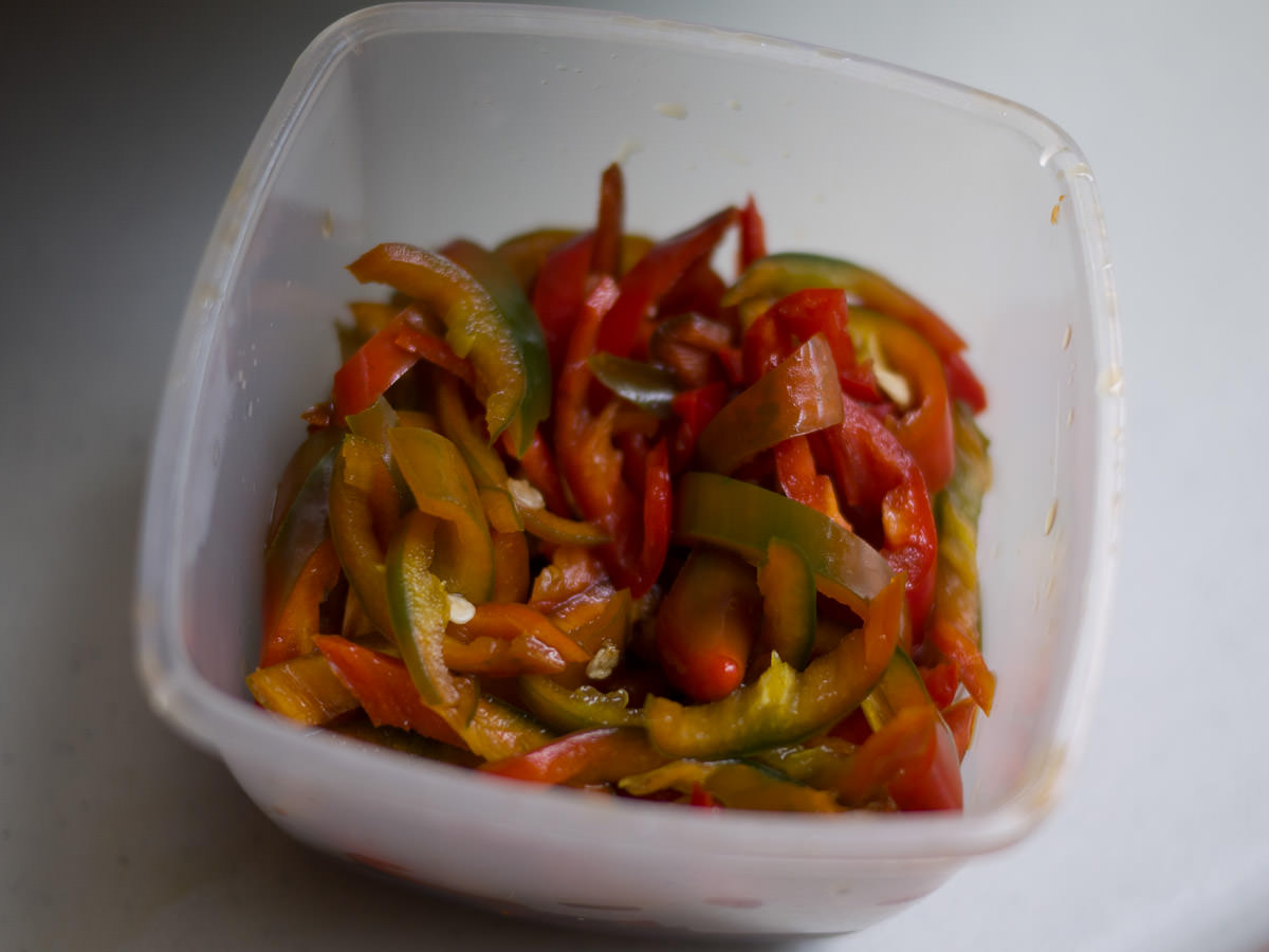 Chillies to go with the noodles