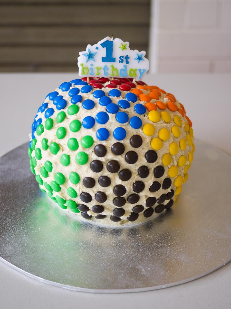 Caleb's 1st birthday cake
