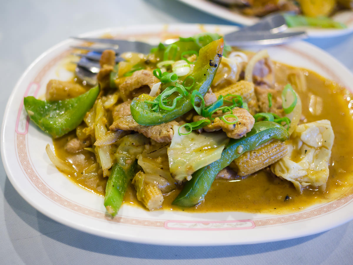 Heo xao lan (pork mild curry, AU$15.90)