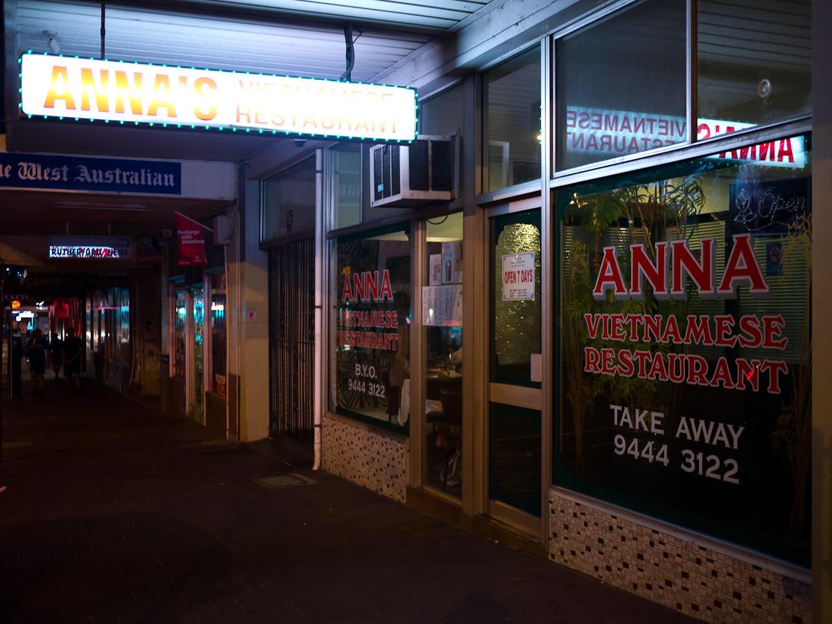 Anna Vietnamese Restaurant, Leederville