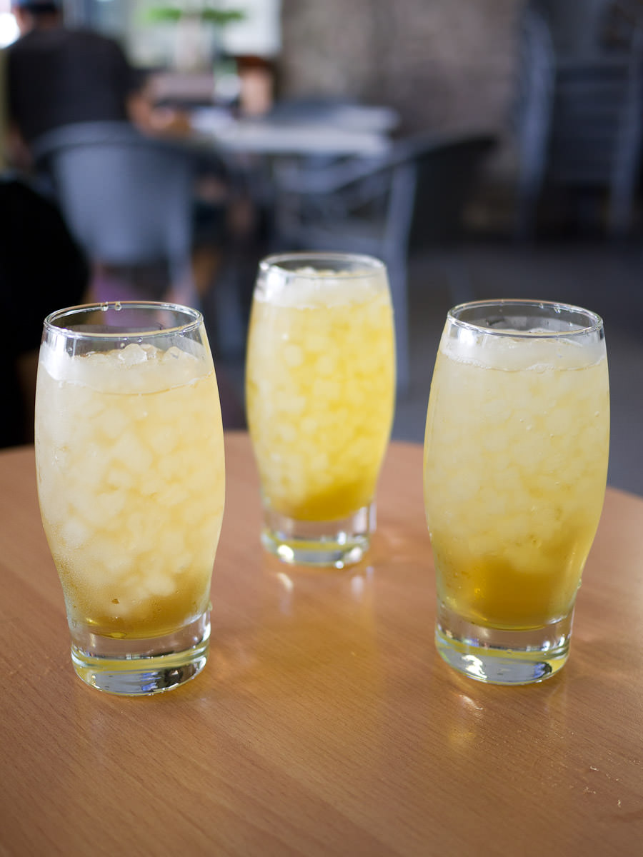 Complimentary jasmine tea, Cafe 86, Cabramatta