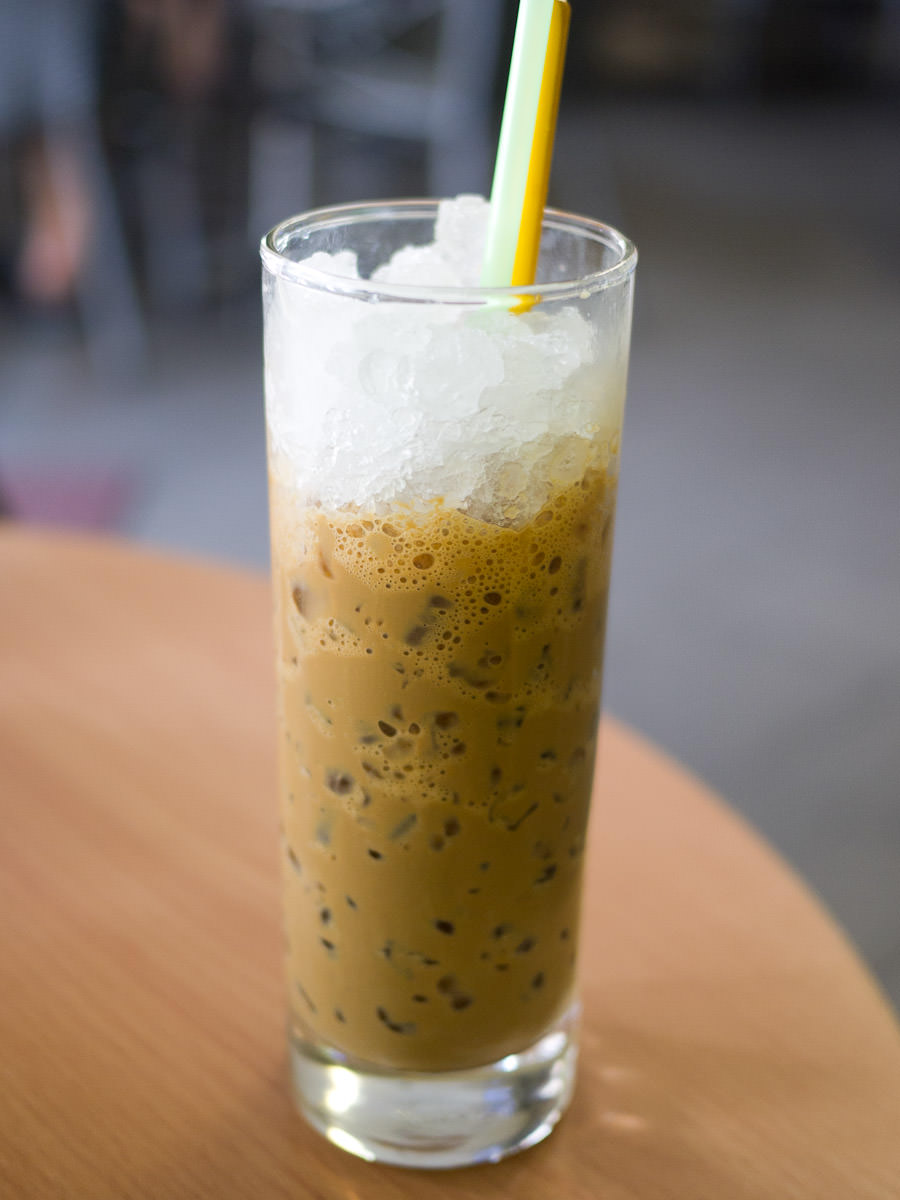 Iced coffee, Cafe 86, Cabramatta