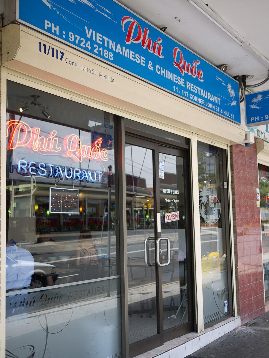 Phi Quoc Vietnamese and Chinese Cuisine, Cabramatta
