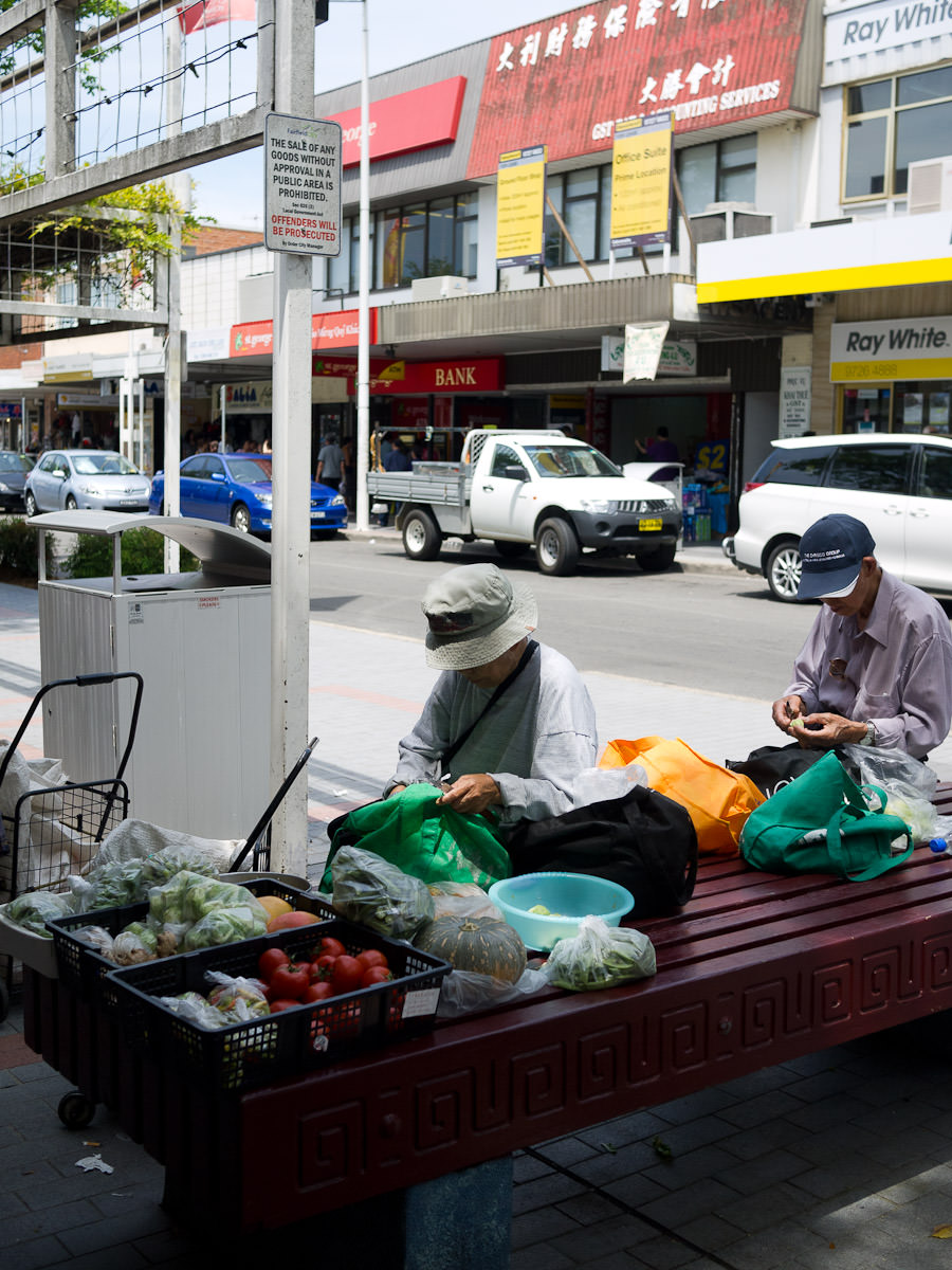 Vegetable hawker, Cabramatta