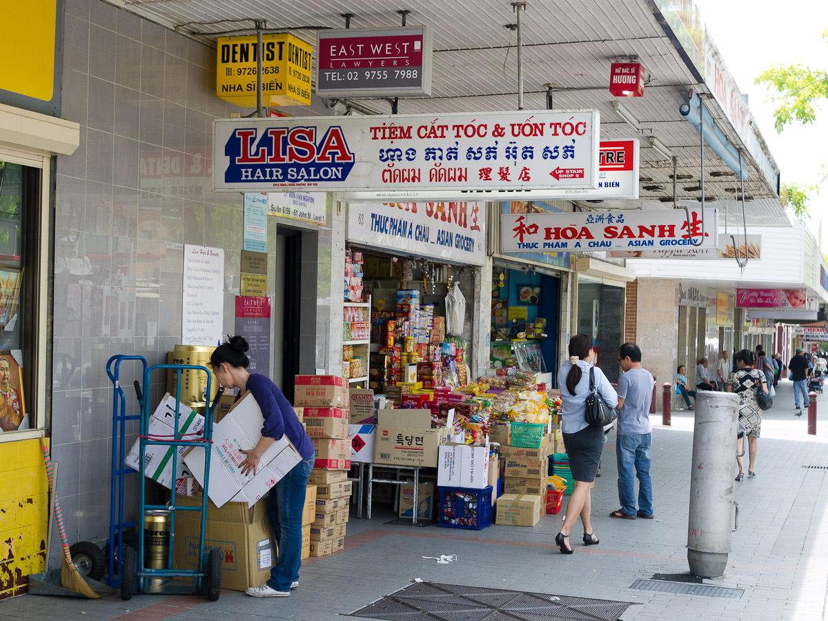 Cabramatta shops
