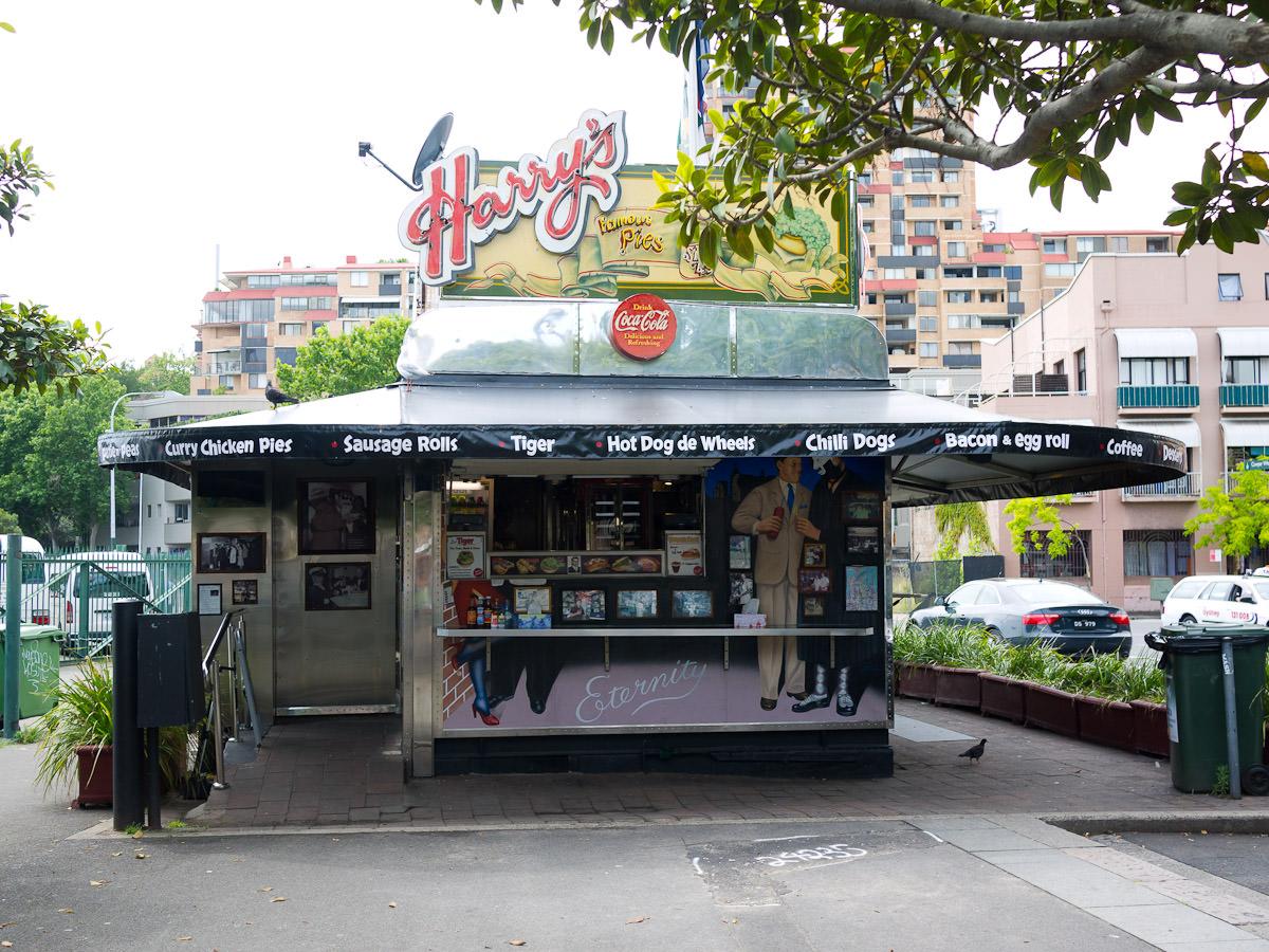 Harry's Cafe de Wheels, Woolloomooloo