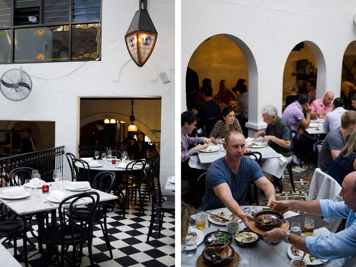 Porteño - dining room